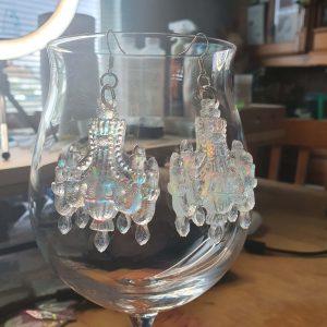 Sparkling Chandelier Earrings 2