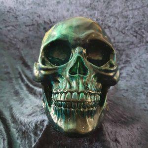 Hand Painted Resin Skull No. 2