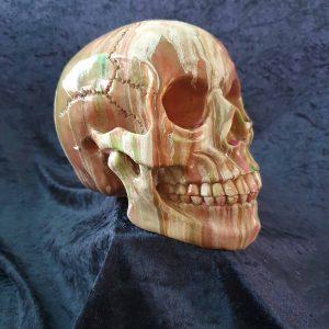 Hand Painted Resin Skull No. 3